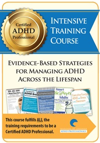 Certified ADHD Professional Intensive Training Course
