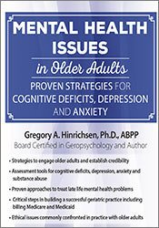 Mental Health Issues in Older Adults