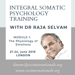 Integral Somatic Psychology Training with Dr Raja Selvam